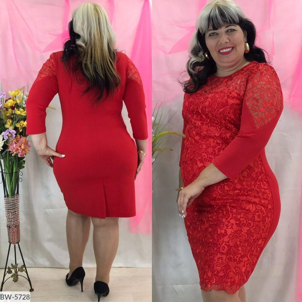 Стильное платье   (размеры 50-56) 0208-85