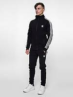 Комплект утепленный Adidas чёрный