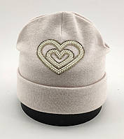 Оптом шапка детская с 48 по 52 размер ангора шапки теплые головные уборы детские опт, фото 1