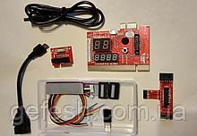 Post карта post card для ПК и ноутбук KQCPET6 V6 7 in1 PCI / PCI-E / LPC MiniPCI-E