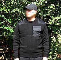 Свитер для Национальной полиции Украины. Полицейская униформа. Новый, фото 1