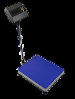 Товарные весы ЗЕВС (Г/п 100-600 кг) Платформа 60х80см. Датчик ZEMIC L6G IP65. Индикатор А12E