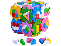 Сортер куб умный малыш супер логика (2650)