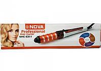 Плойка спиральная для волос NOVA NHC-5311