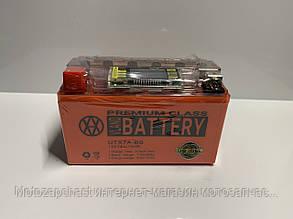 Аккумулятор 7A/12V DS-iGEL с вольтметром VLAND