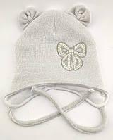 Оптом шапка детская с 48 по 52 размер ангора ушками шапки головные уборы детские опт теплая