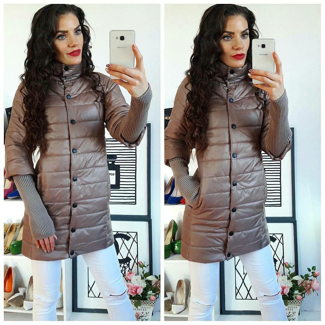 Куртка жіноча, модель 205/2, бежева