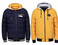 Демисезонная двусторонняя куртка мужская