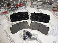 Колодки тормозные дисковые комплект на ось MAN TGL,TGM, MB ATEGO, TRANSPORTER WVA 29115 29148 29116