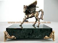 Оригинальный подарок бронзовая статуэтка Пегас