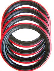 Флиппера R-14 black-red (красные с черной вставкой)