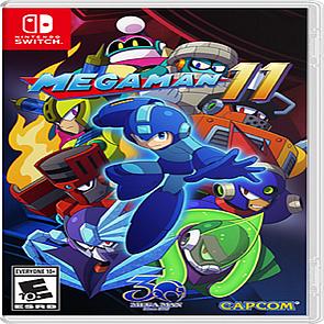 Mega Man 11 ENG Nintendo Switch (NEW)