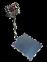 Товарные весы ЗЕВС Нержавеющая сталь (Г/п 100-600кг) Платформа 60х80см Датчик ZEMIC BM6G IP6 Индикатор А12ESS