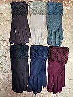 Сенсорны вязание шерсти трикотаж женские перчатки с сенсором для работы на телефоне плоншете Angel оптом, фото 1