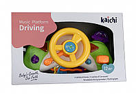 Музыкальная игрушка Руль-автотренажер для малышей