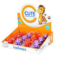 Игрушка Динозаврик для малышей (Сиреневый/Оранжевый)