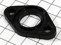 Прокладка патрубка карбюратора Honda TACT AF-16/24, PAL AF-17  (d-14mm, текстолитовая)