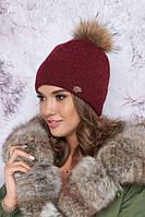 Женская зимняя шапка «Тіяна»