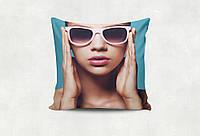 Подушка с Вашим фото (34*34 см.)