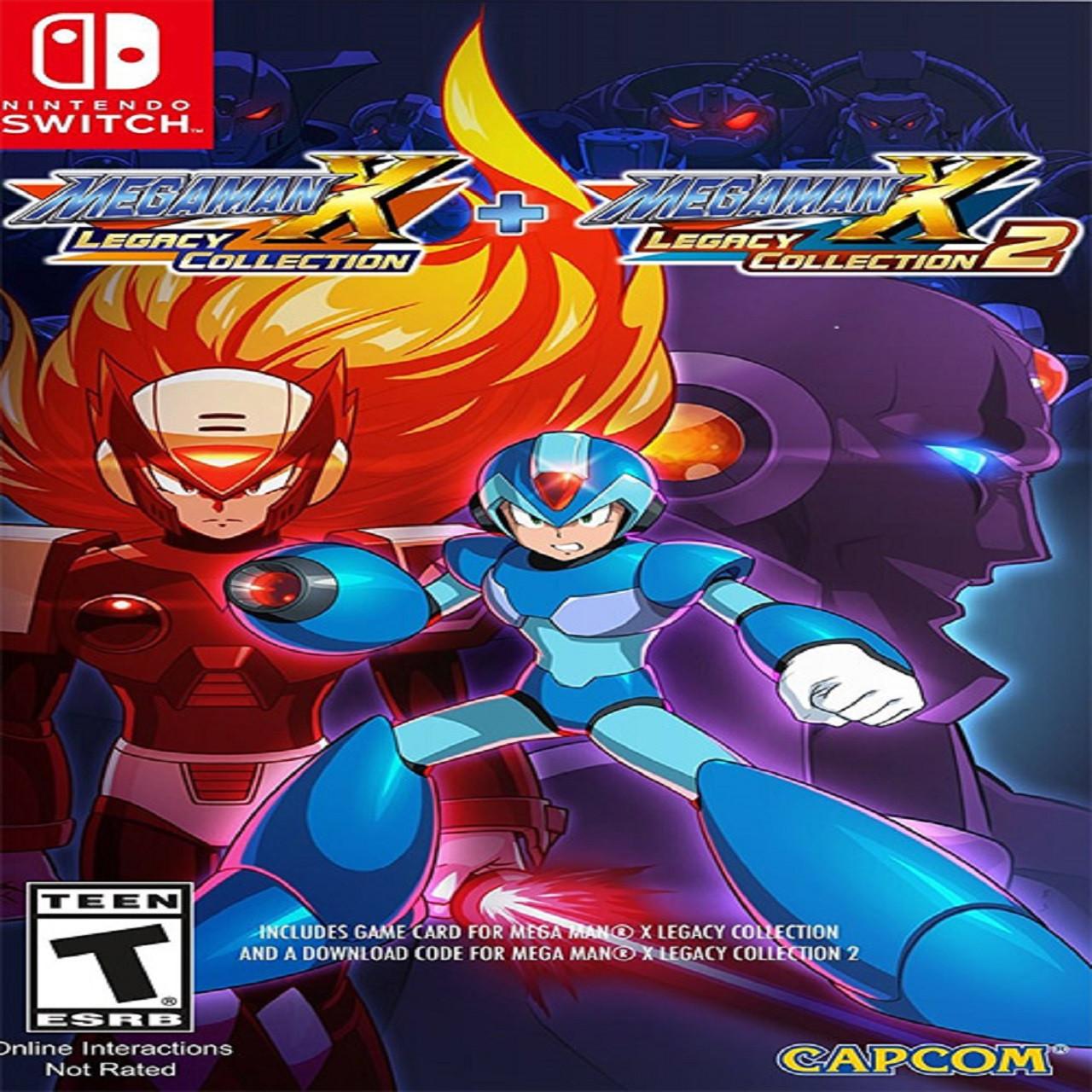 Mega Man X: Legacy Collection 1 + 2 Nintendo Switch (NEW)