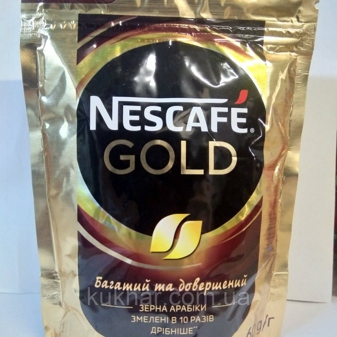 "Кава ""Nescafe"" Gold 60г"