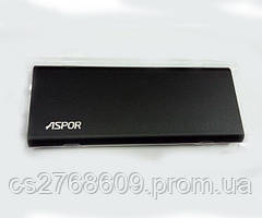 "PowerBank ""Aspor"" A383 10000 mah (1USB/2.4A) ultrathin metal (black)"