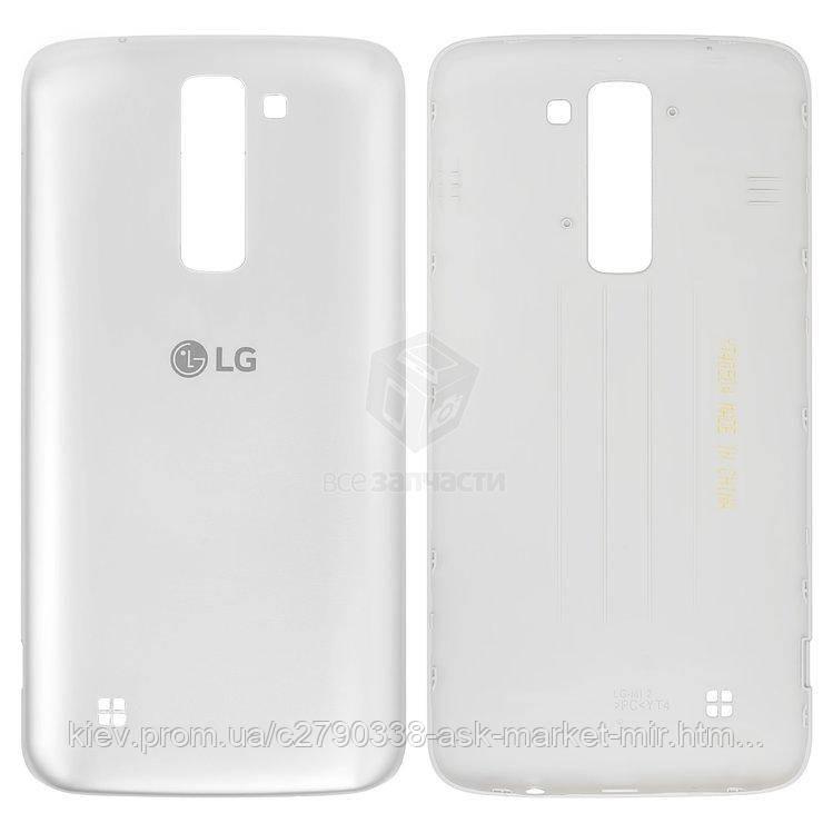 Задняя панель корпуса (крышка аккумулятора) для LG K7 (X210, X210DS) Original White