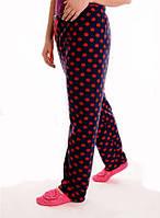 Женские домашние флисовые штаны(пижамные)Турция