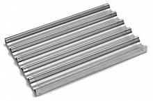 Противень для багетов 600x400 мм с 5 волнами Unox перфорированный