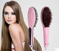Расческа-выпрямитель Fast Hair Straightener HQT-906, фото 1