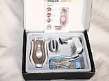 Эпилятор ROZIA HB-6005 2в1 + бритва женская влагозащищенный аккумуляторный, фото 5
