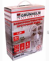 Кран-водонагреватель проточный Grunhelm EWH-3G