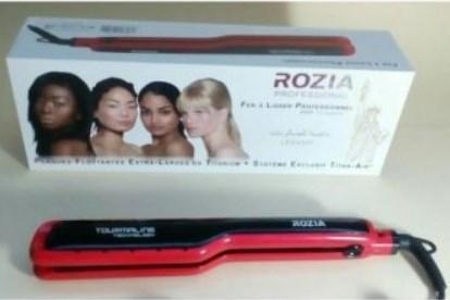 Утюжок для волос ROZIA Pro Ceramic с LCD дисплеем