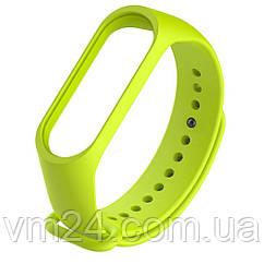 Ремешок Xiaomi Mi Band 3\4 качественные силиконовые ремешки Green
