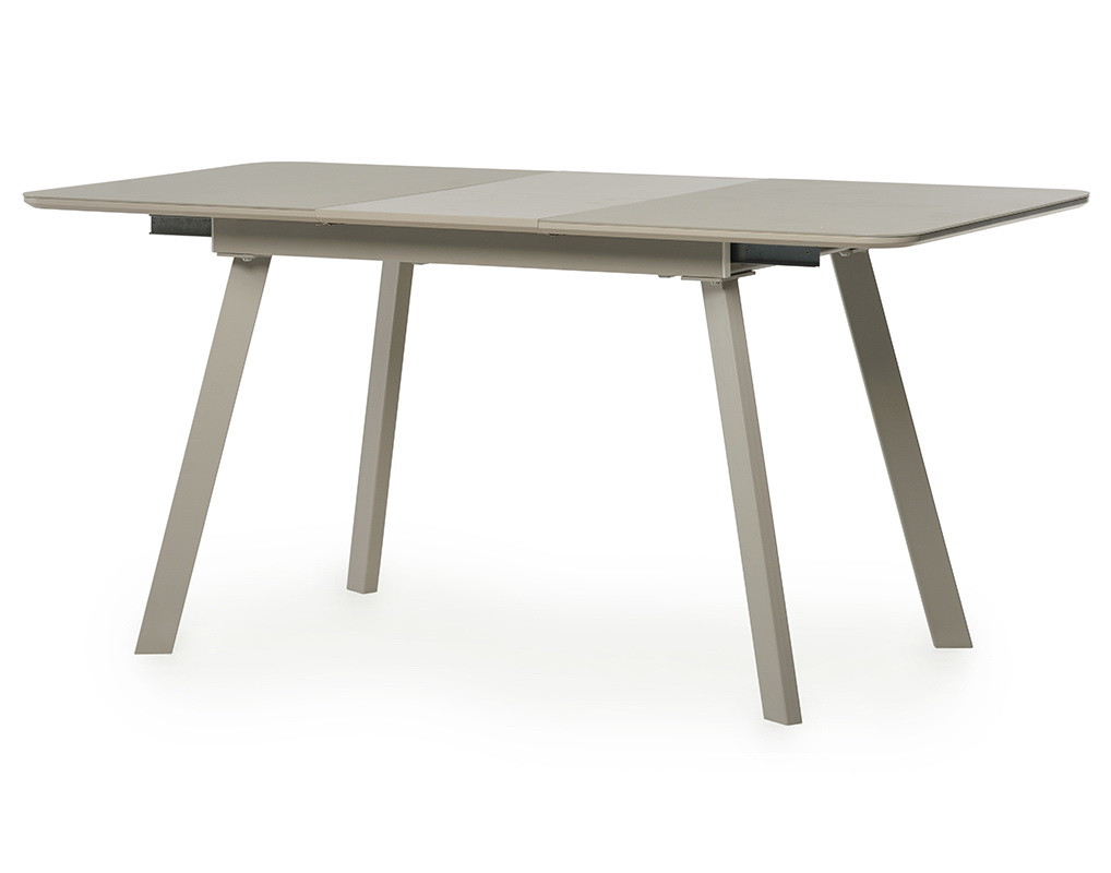 Стол обеденный TM-170 Капучино сатин 120/160х80х75 см.