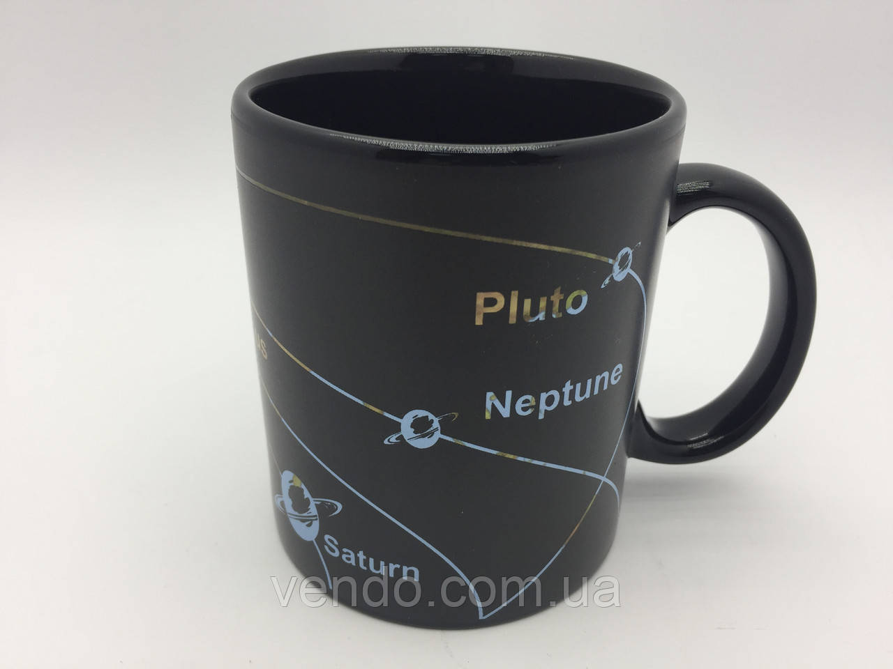 Кружка-чашка хамелеон с терморисунком SOLAR SYSTEM