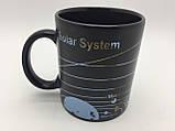 Кружка-чашка хамелеон с терморисунком SOLAR SYSTEM, фото 3