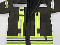 Костюм захисний для пожежника чотирьохшаровий посилений:  куртка та напівкомбінезон із тканини NOMEX