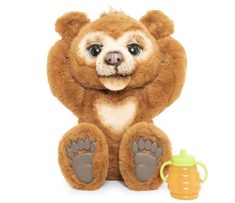 Интерактивный медведь Кубби Фуриал Любопытный Медвежонок Кабби FurReal Friends Cubby The Curious Bear Hasbro