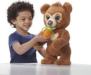 Интерактивный медведь Кубби Фуриал Любопытный Медвежонок Кабби FurReal Friends Cubby The Curious Bear Hasbro, фото 2