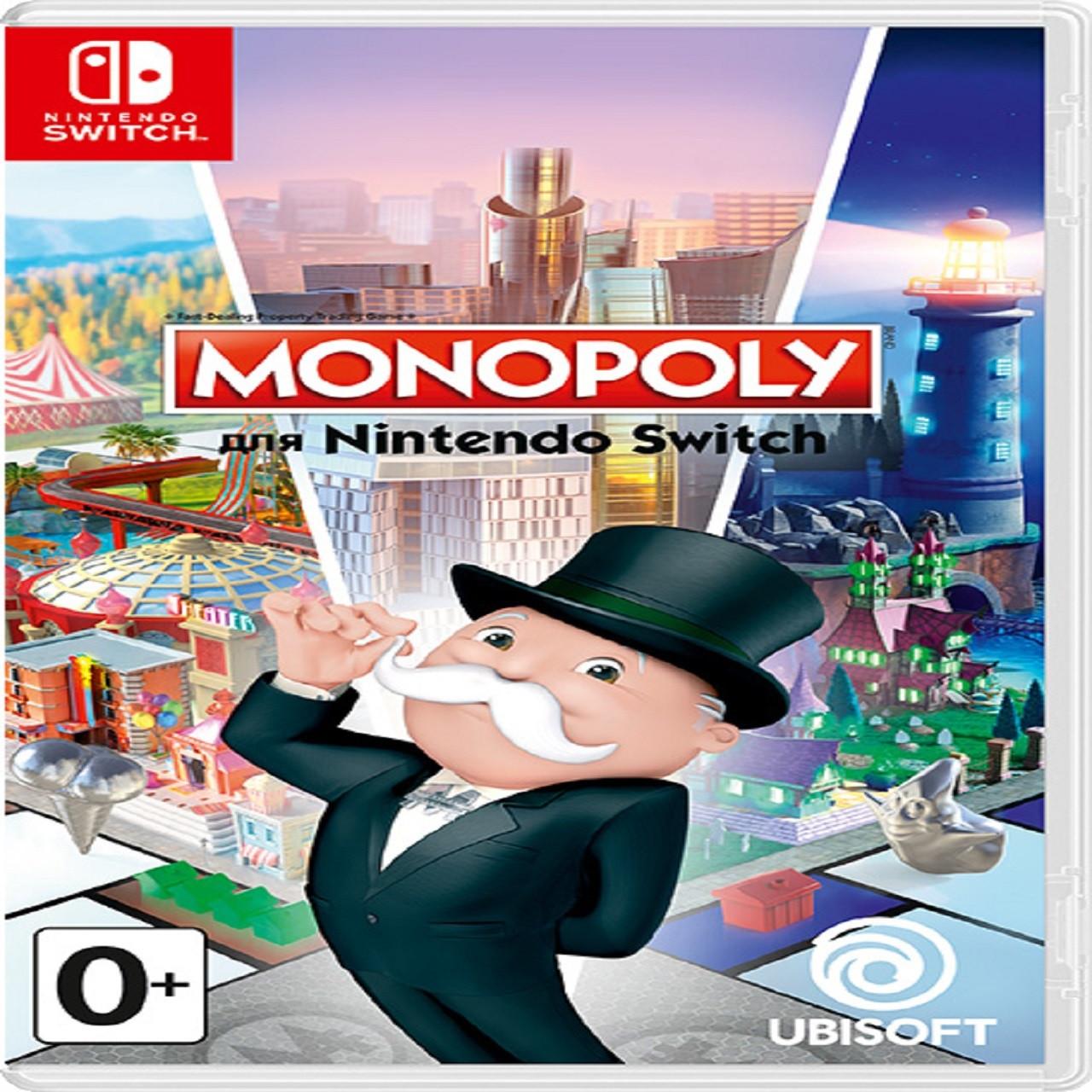 Monopoly RUS Nintendo Switch (NEW)