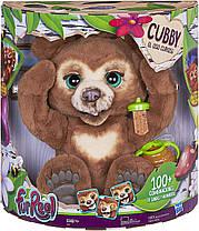 Интерактивный медведь Кубби Фуриал Любопытный Медвежонок Кабби FurReal Friends Cubby The Curious Bear Hasbro, фото 3