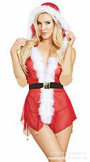 Сексуальный костюм снегурочки, фото 3