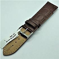 24 мм Кожаный Ремешок для часов CONDOR 305.24.02 Коричневый Ремешок на часы из Натуральной кожи, фото 2