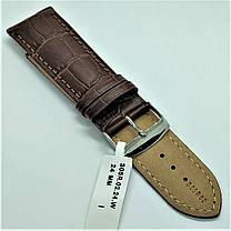 24 мм Кожаный Ремешок для часов CONDOR 305.24.02 Коричневый Ремешок на часы из Натуральной кожи, фото 3