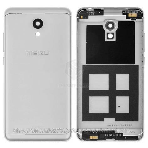 Задня панель корпусу (кришка акумулятора) для Meizu M6 (M711H, M711M, M711Q) Original Silver, фото 2