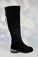 Замшевые женские зимние сапоги Lady Marcia