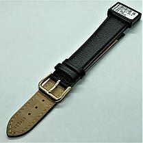 22 мм Кожаный Ремешок для часов CONDOR 054L.22.01 Черный Ремешок на часы из Натуральной кожи удлиненный, фото 3