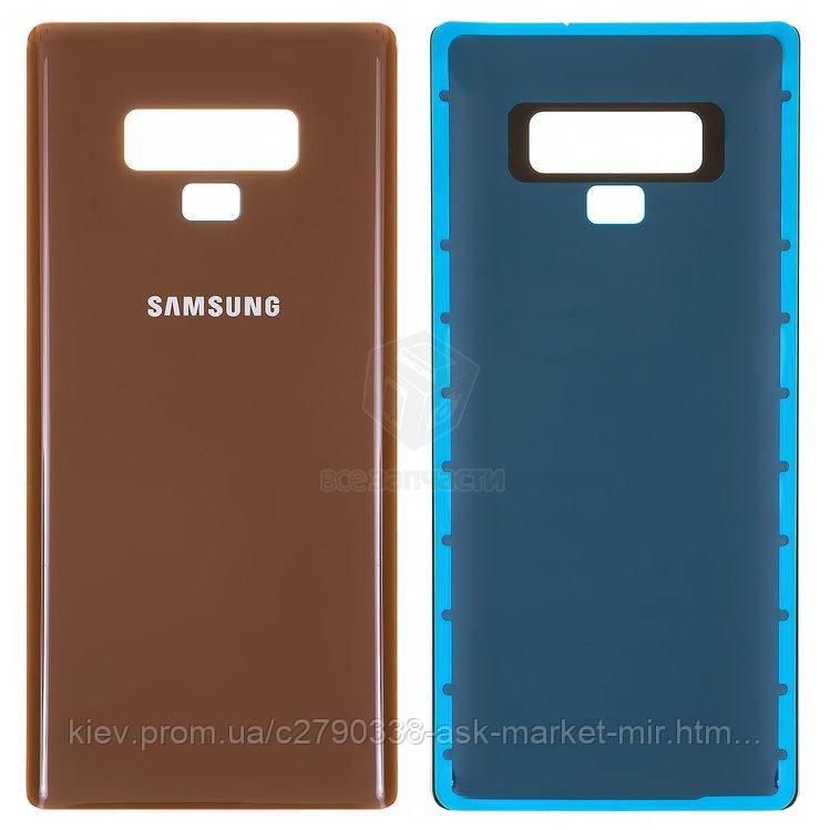 Задняя панель корпуса (крышка аккумулятора) для Samsung Galaxy Note 9 N960F, Galaxy Note 9 Duos N960FD Original Brown