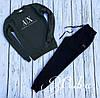 Мужской теплый спортивный костюм AX (48 50 52) (цвет хаки) СП